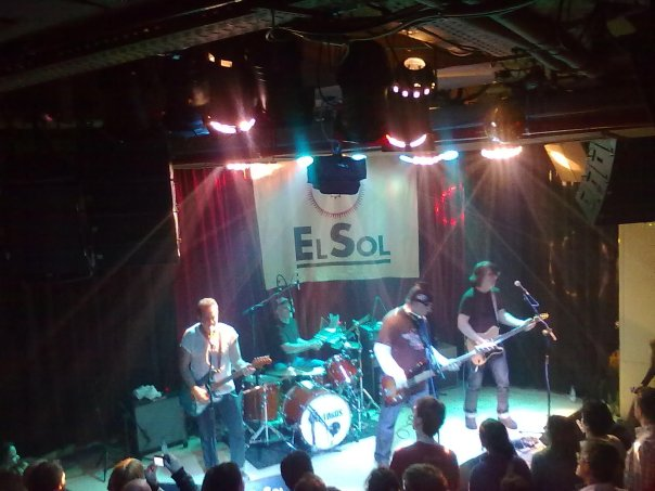 The Del-Lords at El Sol in Madrid 2010