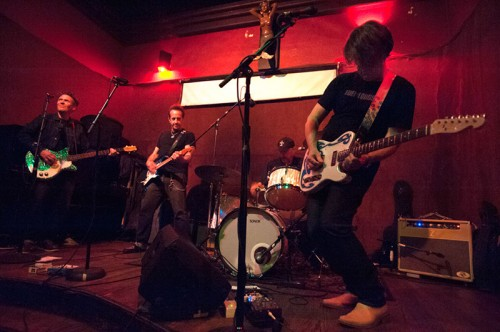The Del-Lords at Hotel Utah in SF Oct 1 by Mark Murrman
