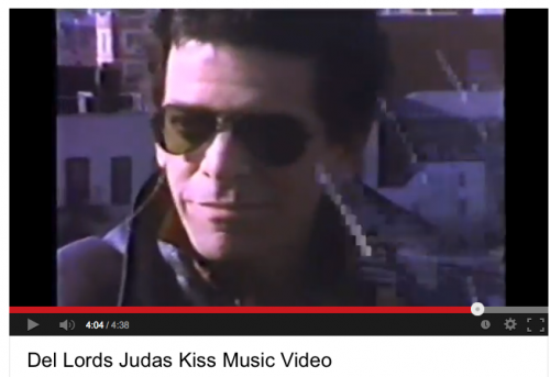 Lou Reed on 11th Street w the Del-Lords