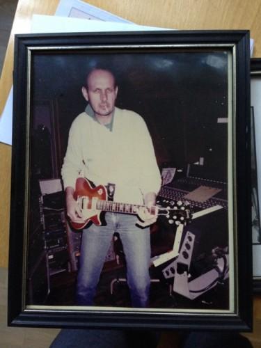 Lou w the Les Paul